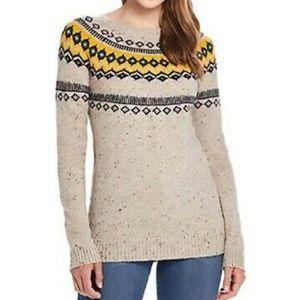 NWT Weatherproof Vintage Oatmeal Sweater